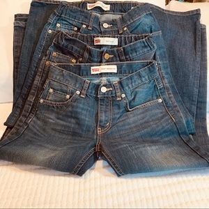 Levi's Blue Jeans / Pack Of 3
